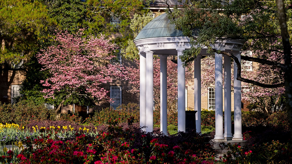 The Old Well on the UNC-CH campus