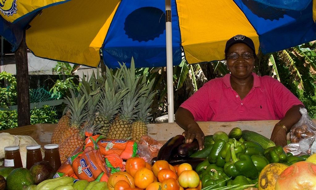 Fruit seller - Bequia