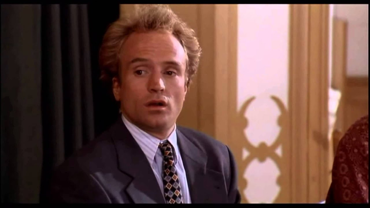 Image of business ethics scene in the movie billy madison.