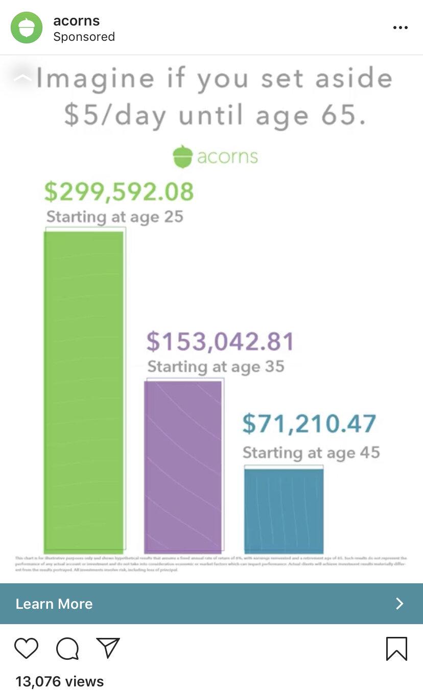 Acorn earnings