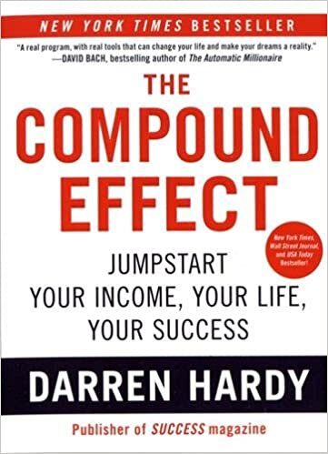 The Compound Effect - No gimmicks. No Hyperbole. No Magic Bullet. The Compound Effect is based on the principle that decisions shape your destiny. Little, everyday decisions will either take you to the life you desire or to disaster by default.Buy on Amazon