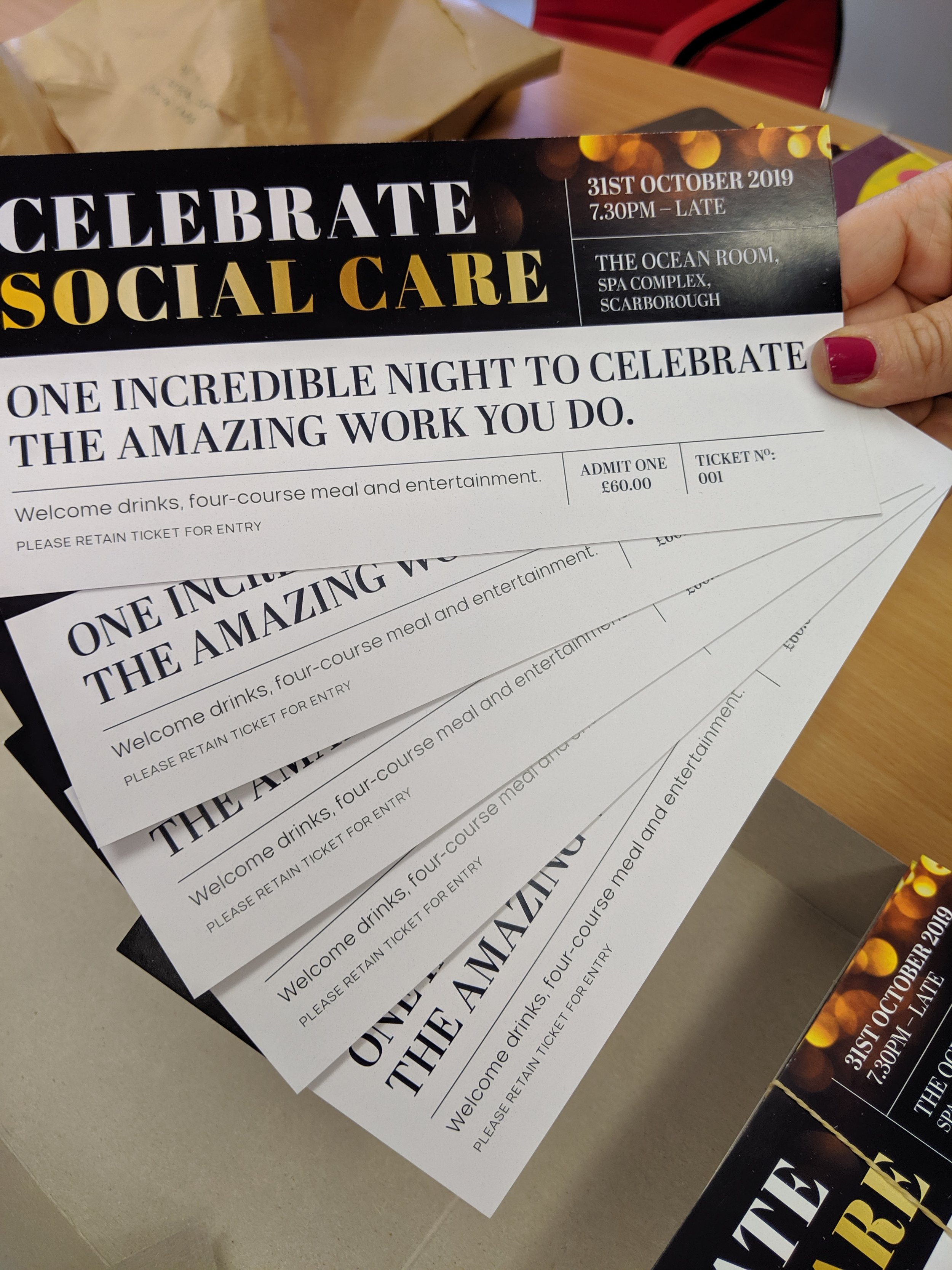 Ten free tickets to give away to unpaid carers.