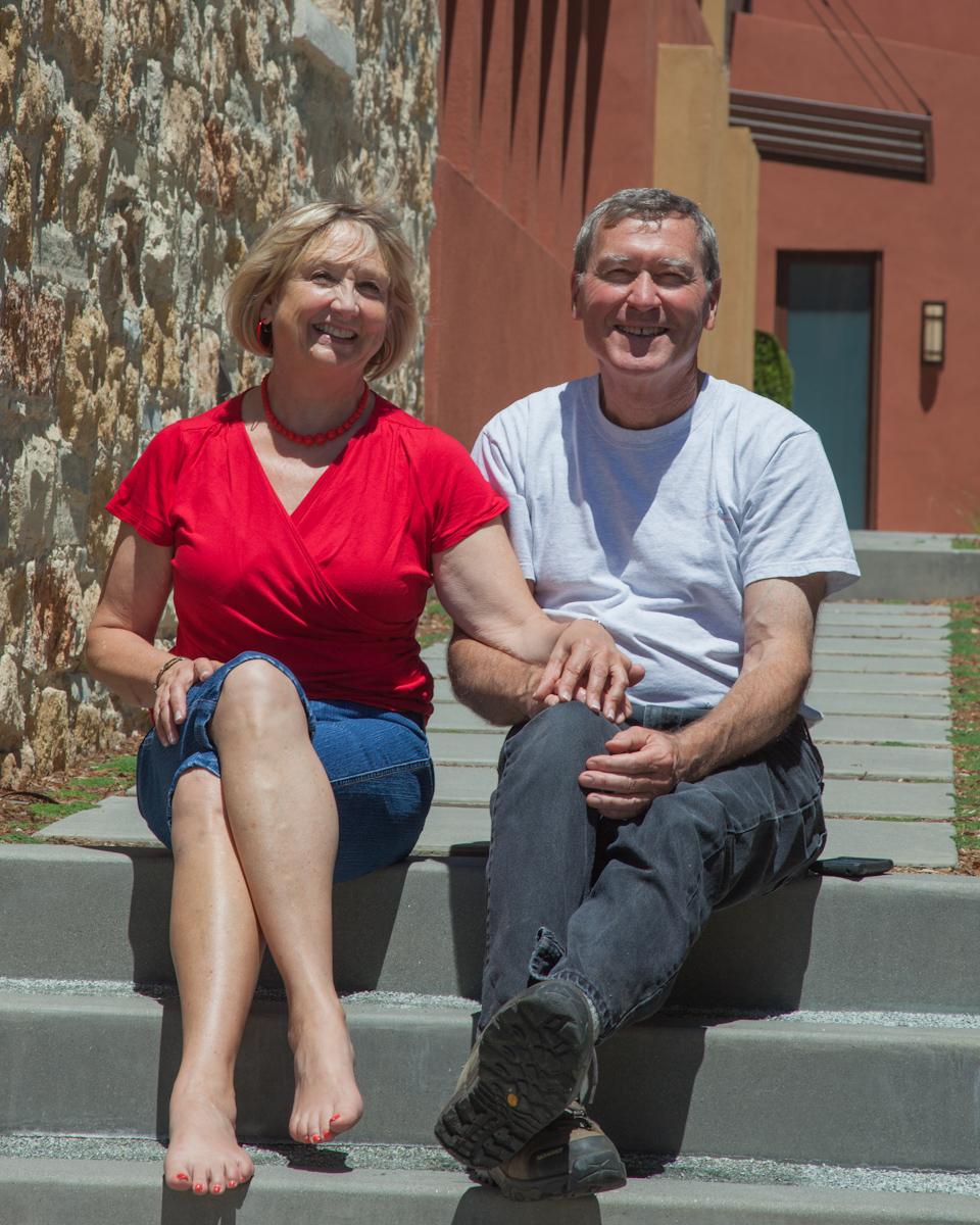 Denise Danisch and Bob Hartmann,  Proprietors of Las Nietas Vineyard