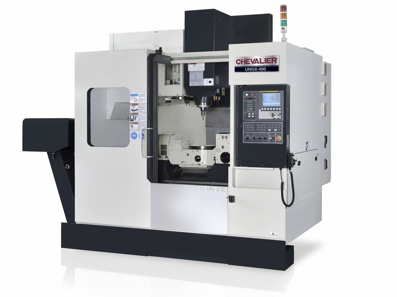 """Uni5X-400 $154,800 - HP: 20RPM: 12,000Machining Capacity: 15.7 X 13.7"""" HControl: Fanuc Oi MF Mold PackageAccessories & Options: CT40, big plus spindle, roller way, 30 ATC, chips flush, spindle oil chiller, internal chip augers, chip conveyor, CTS prep, Fanuc Mold package"""
