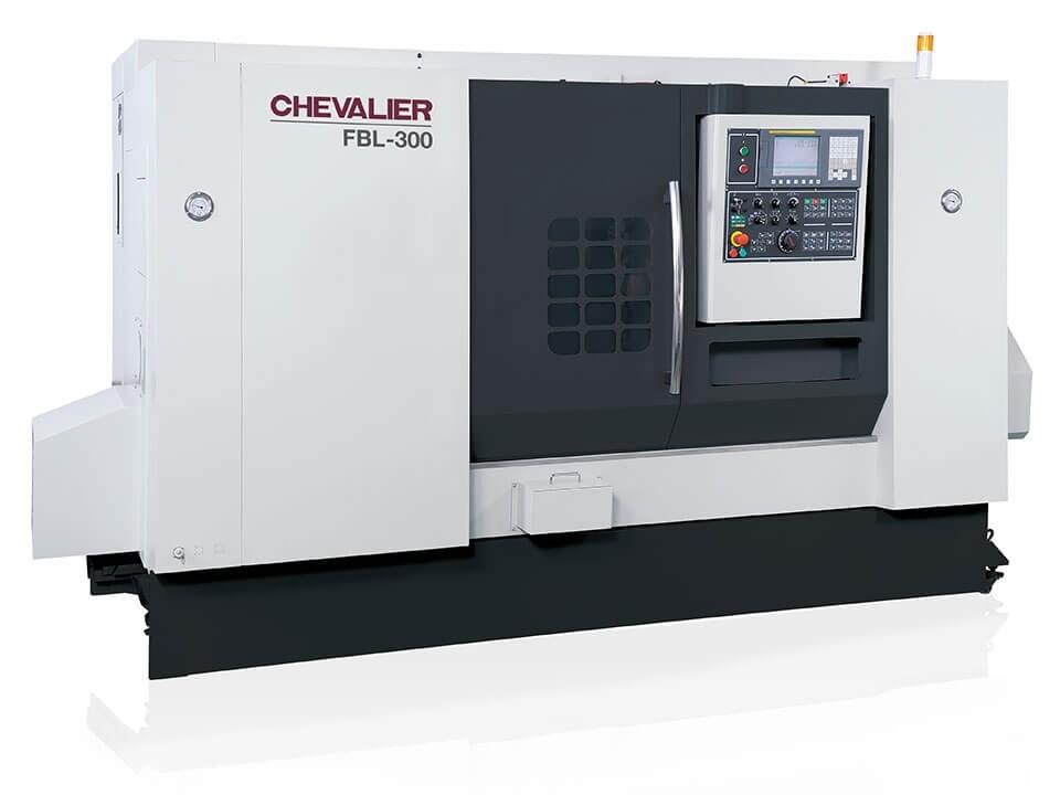 "FBL-300L $118,000 - Chuck Bar/Capacity: 12"" / 3""Max Swing/ Cutting Diameter/ Length: 25.7""/ 20"" /61.2""HP: 25RPM: 2,500Control: Oi-TDAccessories & Options: Box ways, roller thrust bearings, 12-station servo turret (1"" OD shank), oil skimmer, Renishaw tool setter, programmable MT5 tailstock, conveyor"