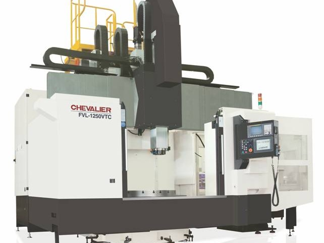 """FVL-1250VTC $459,200 - Chuck: 50""""Max Swing/ Cutting Diameter/ Height: 63""""/ 63"""" /47.2""""HP: 60RPM: 300 2 speed gearboxControl: Oi-TDAccessories & Options: 12-ATC, auto door, oil skimmer, chip conveyor"""