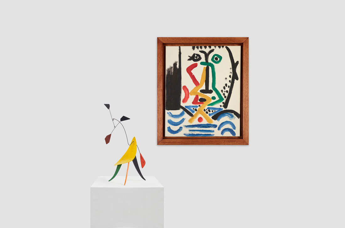 Alexander-Calder-Untitled.-c.-1942-Pablo-Picasso-Portrait-of-a-Bearded-Man,-Mougins-1964.jpg