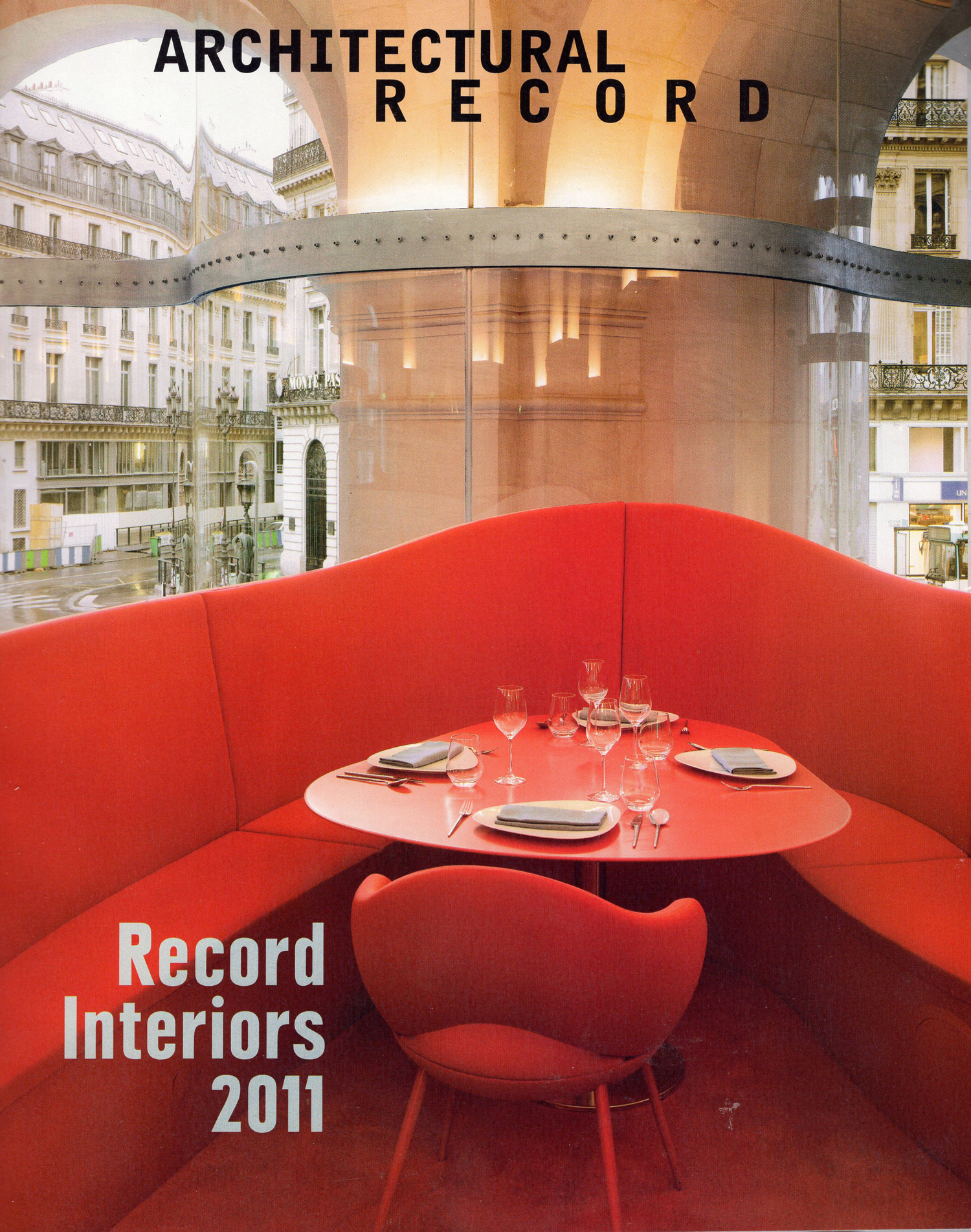 Architectural Record -  Record Interiors 2011
