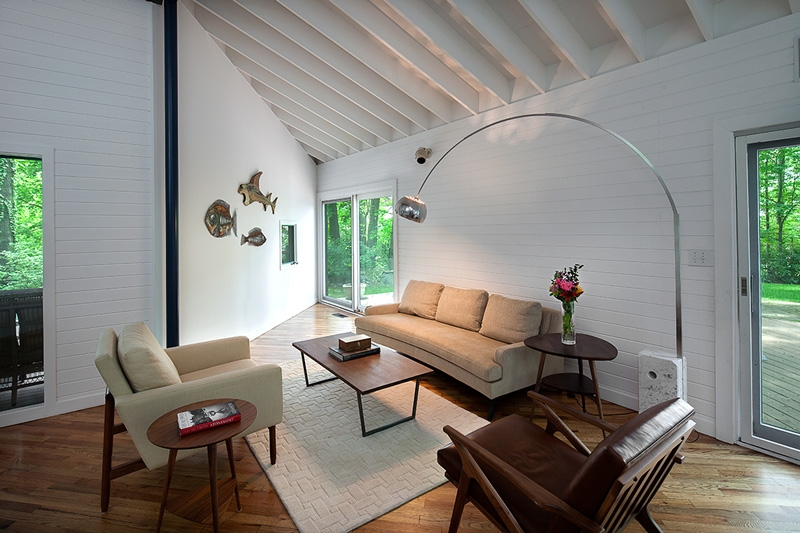 Westchester Magazine - This Geometric Cozy Home Is an Architectural Marvel
