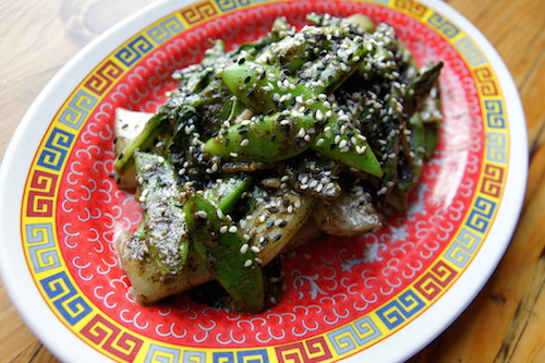 Wok Seared Snap Peas