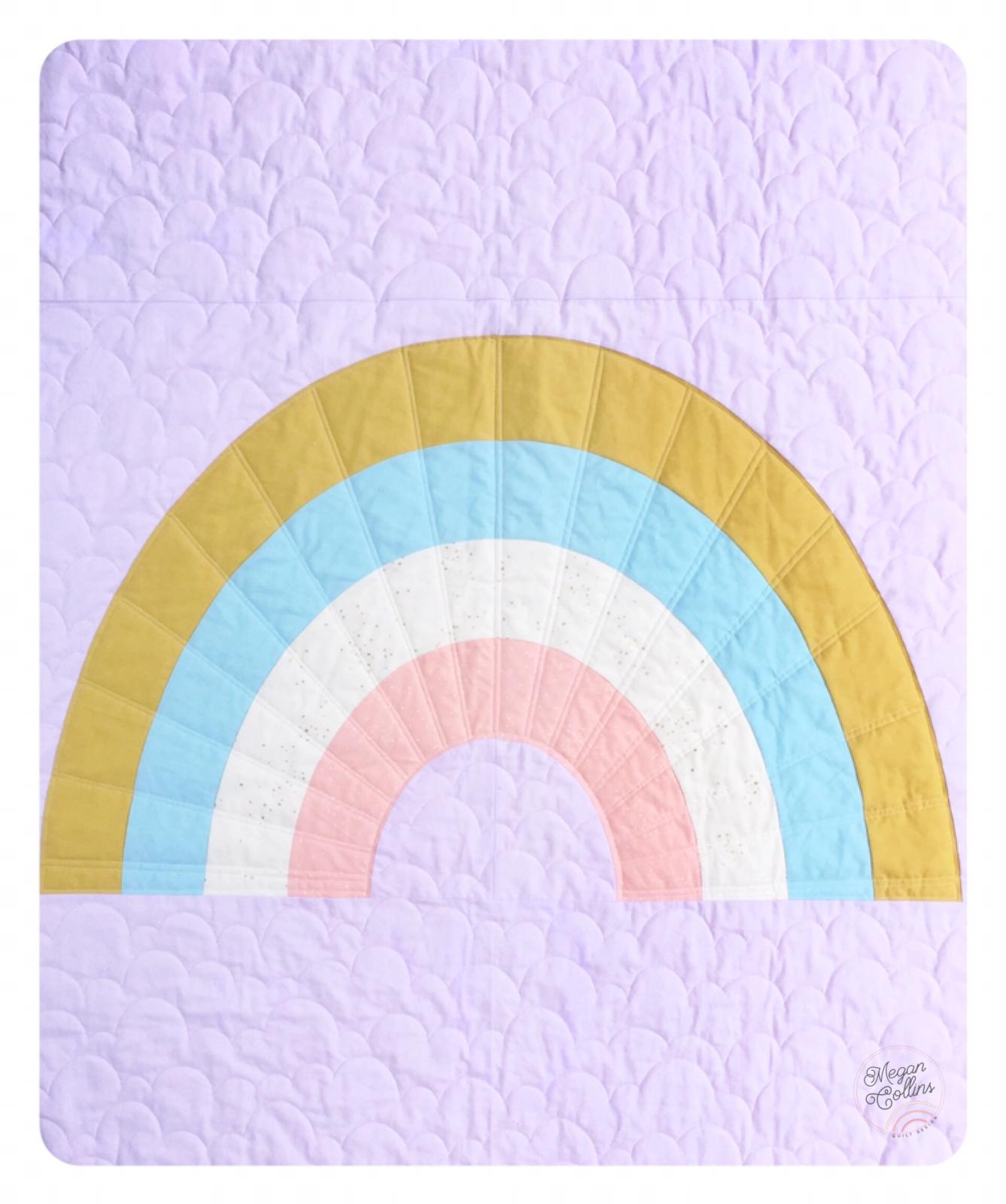 Retro Rainbow Quilt