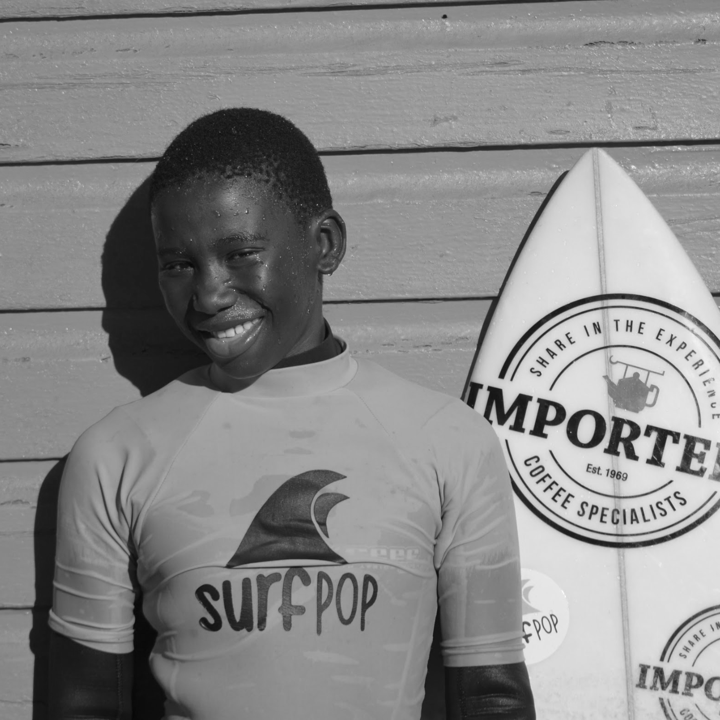 """Surfpop is my family and when I am with them I feel free because they are good people. In Surfpop we are brothers and sisters and we are talking to each other."""
