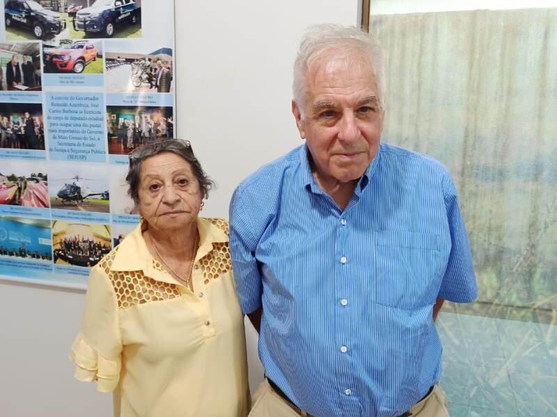 Descendente da tradicional família, Maria Benitez se encontrou com o pesquisador Edward Ziff