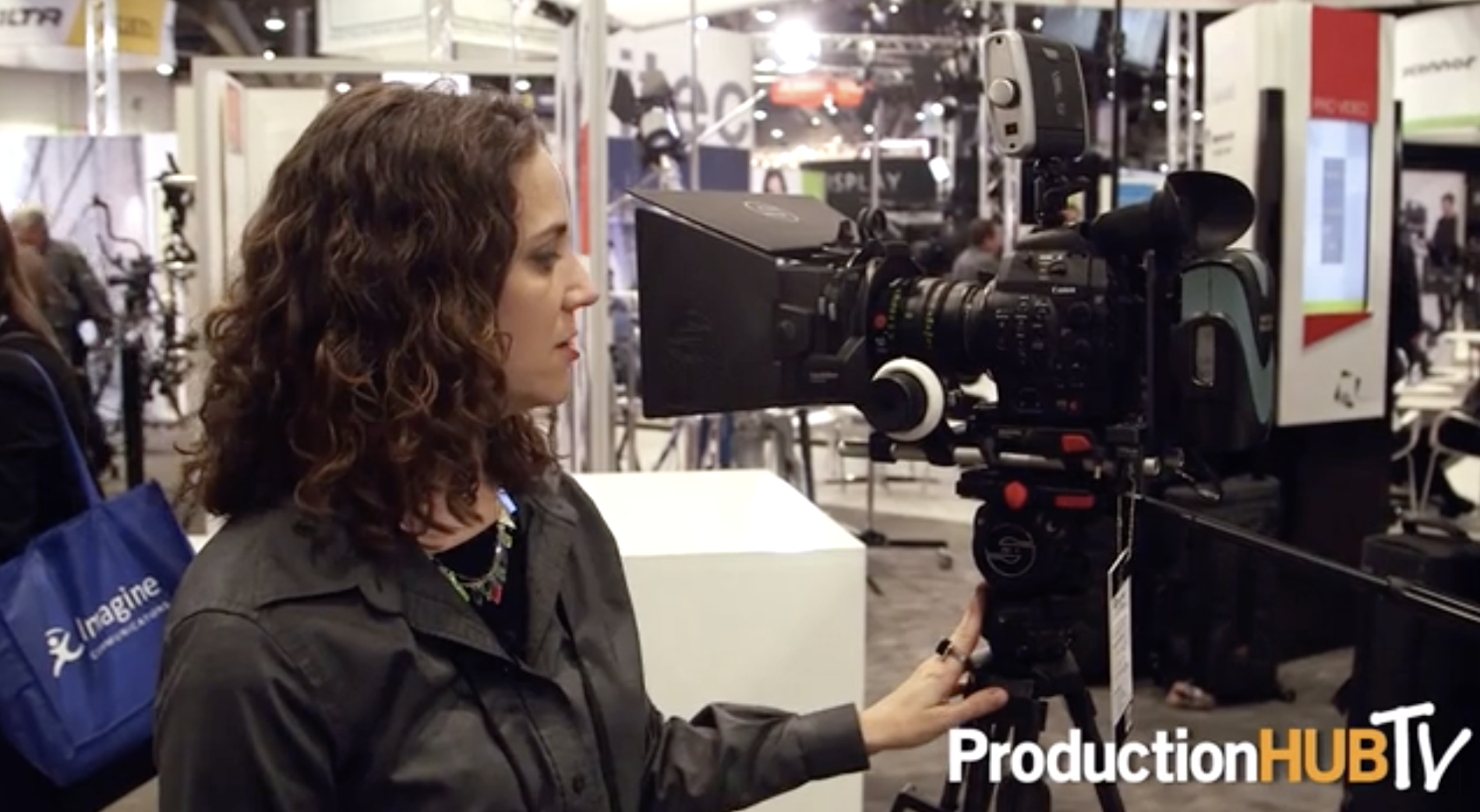 Sachtler - NAB 2014 (Production Hub)