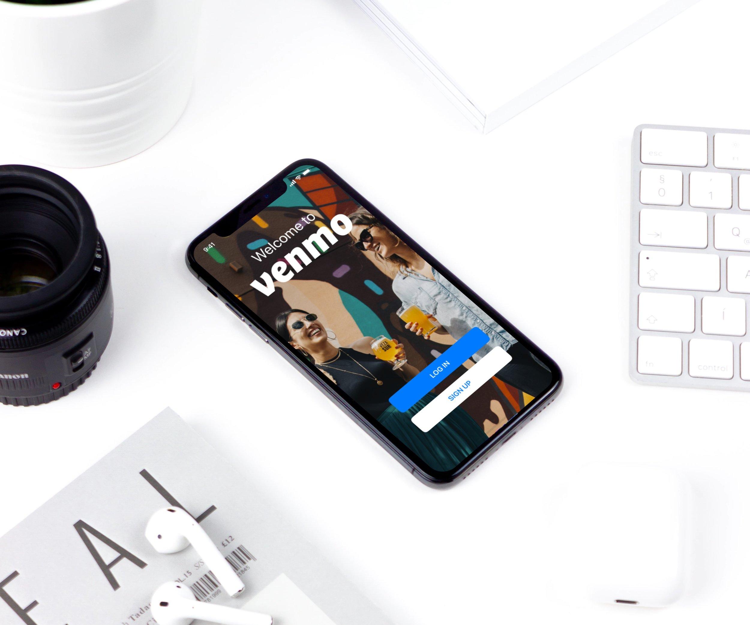 Venmo Redesign - A UX Case Study