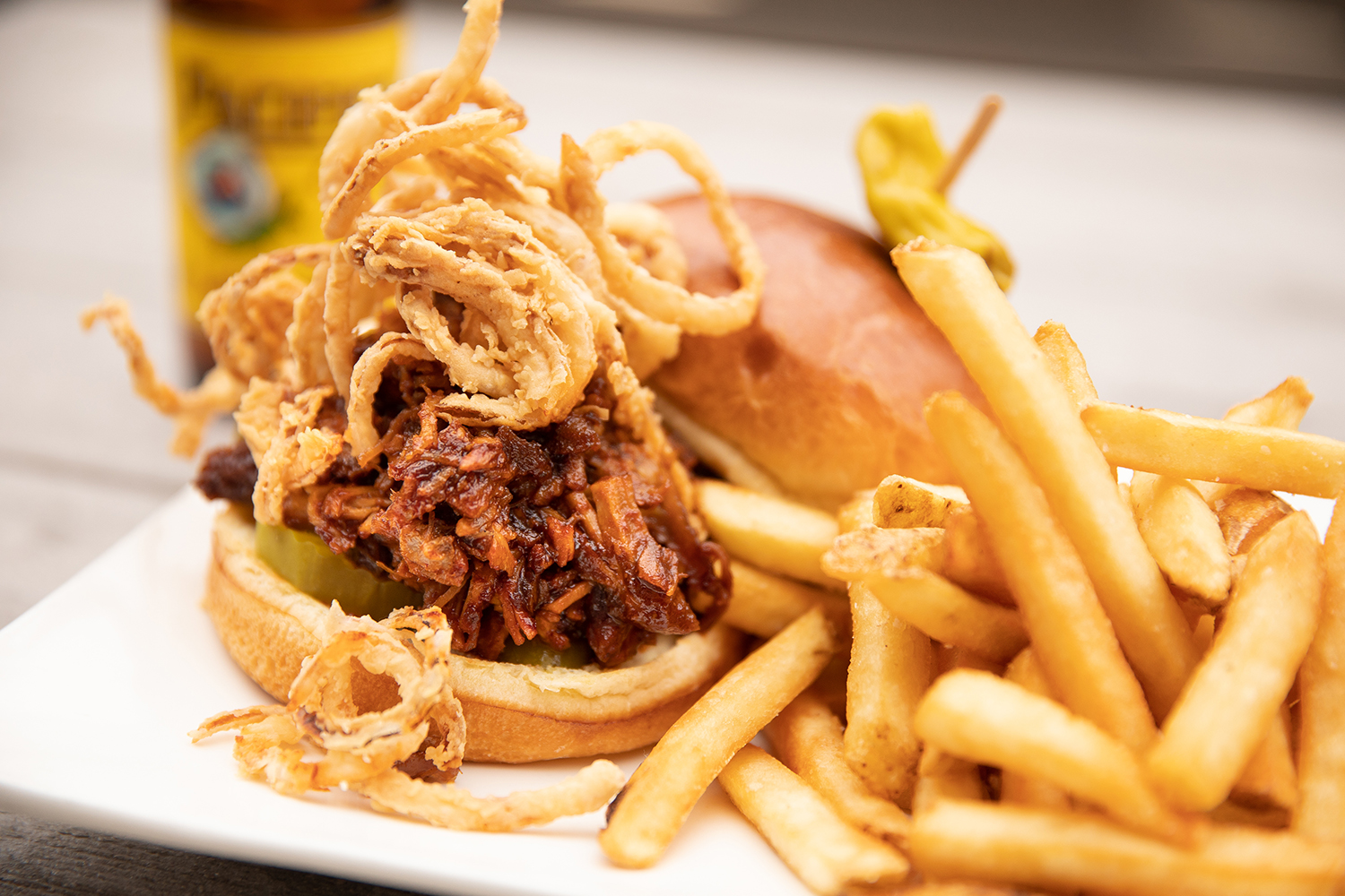 Pulled Pork Carnitas Sandwich