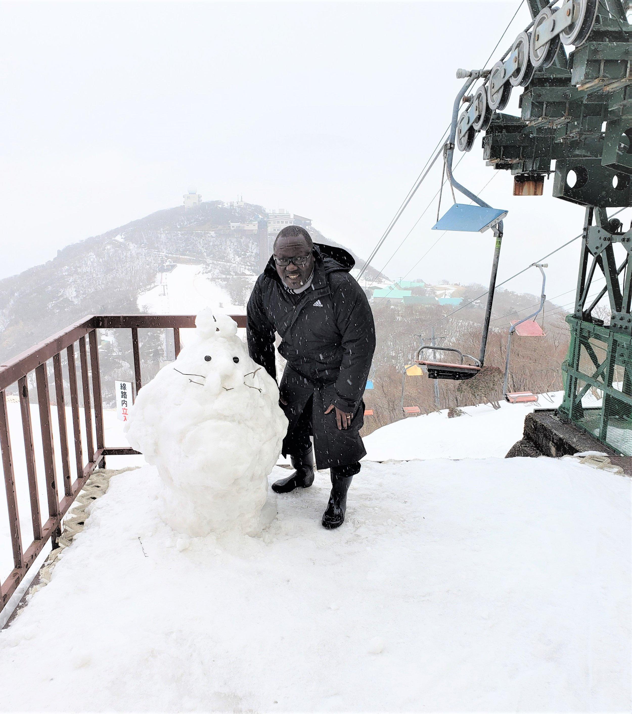 February 2019 in Japan at Mt. Gozaisho, Suzuka mountain range (border of Mie and Shiga Prefectures)