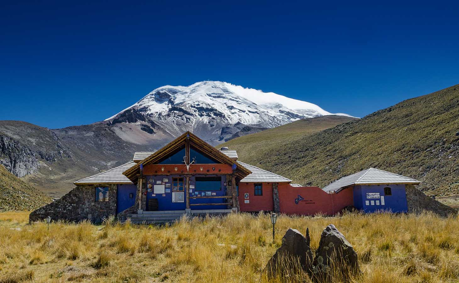 Chimborazo - Maybe you are more interested in seeing one of the largest and most impressive sights in the entire world. If that sounds like something you'd be excited to do, check out the tallest mountain in Ecuador, the Chimborazo, which is also the face of the Chimborazo Wildlife reserve.