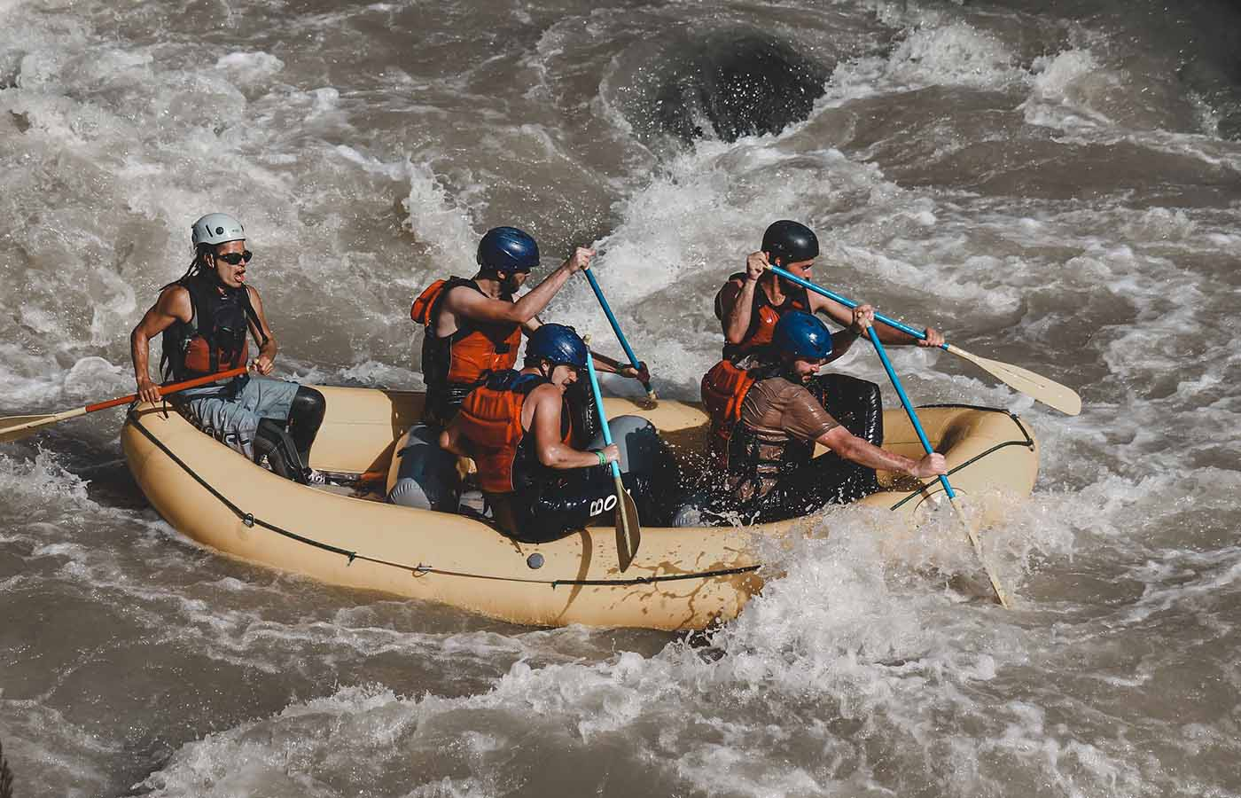 Rafting -