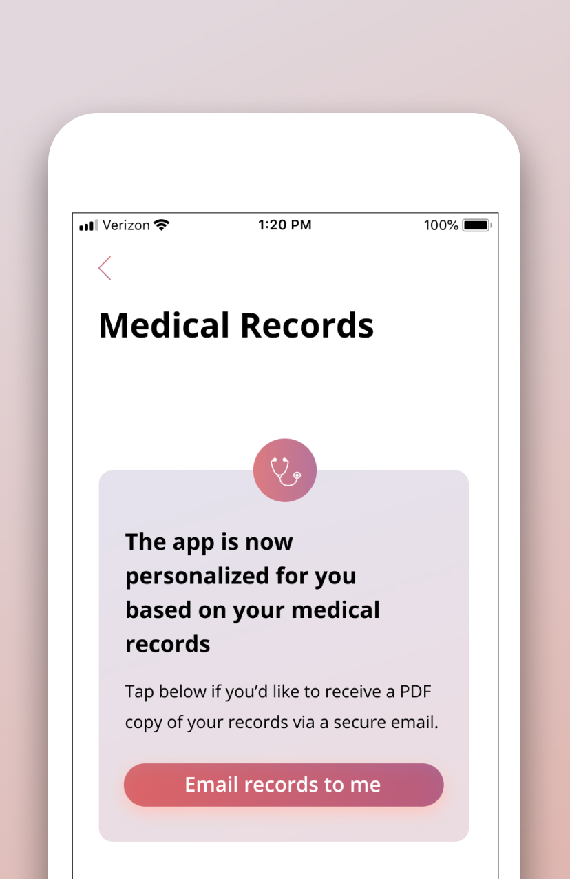 Get access to your medical records - Obtain copies of your complete medical records as well as a fully personalized summary to help you understand and manage your own care.