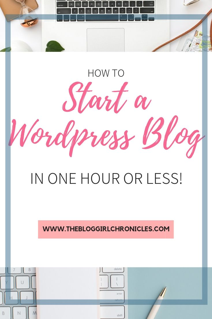 How to start a Wordpress Blog in one hour or less! Real tips for finding a good host, choosing the right domain name and what to look for in a blog hosting company. #blogging #bloggingtips #wordpress