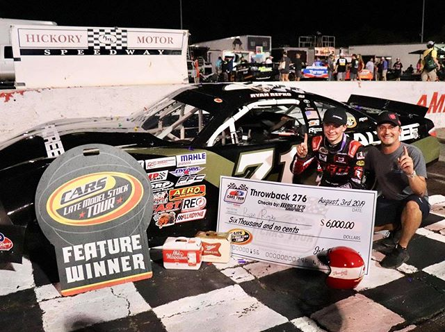 Congrats to PMG driver @ryanrepko on his @cars_tour throwback win! #whatsyourplan