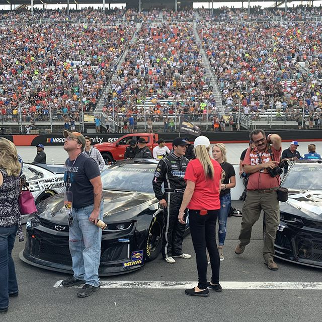 Ready to go racing @bmsupdates with @p1_houff.