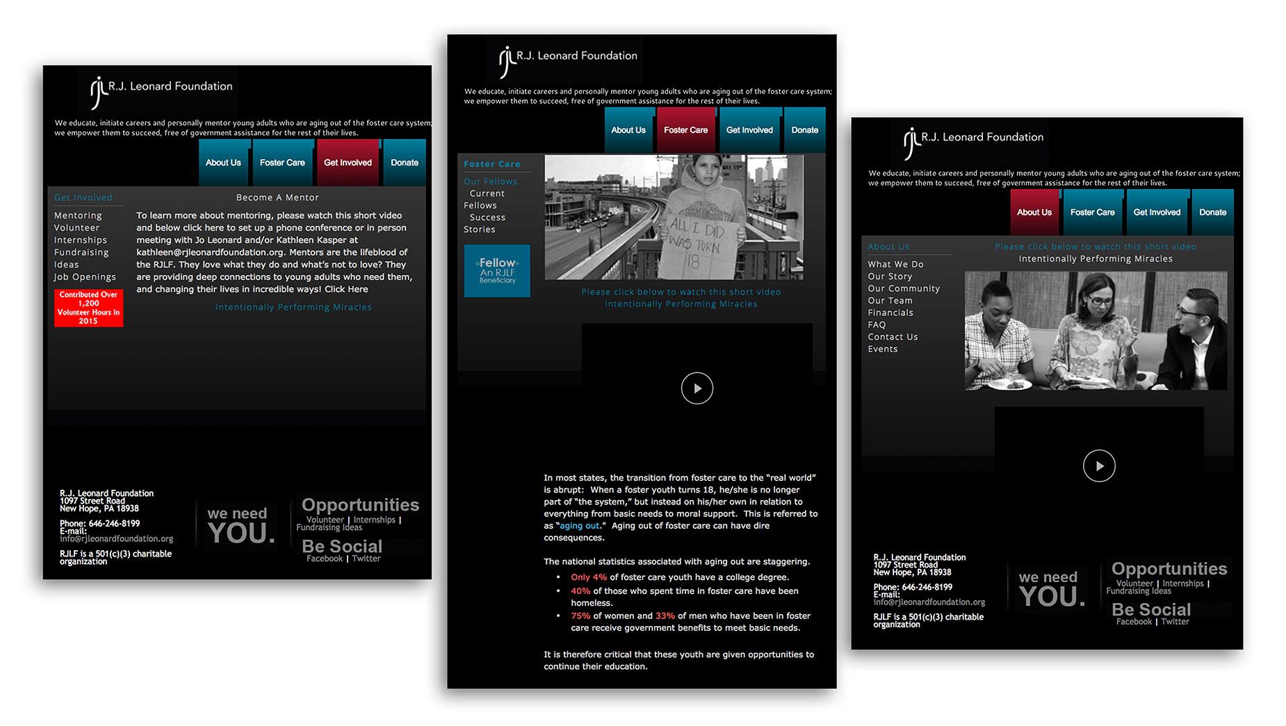 Old version of the RJLF website