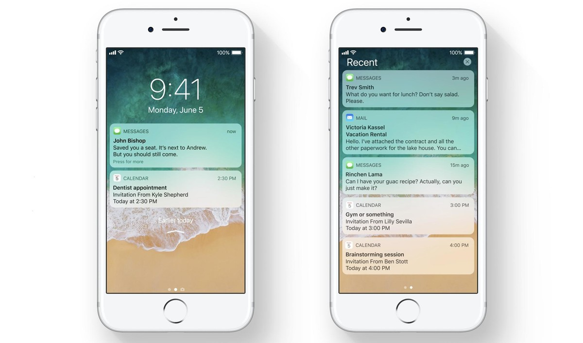 iOS's new unified notification center
