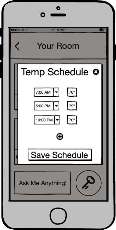 Temperature preferences