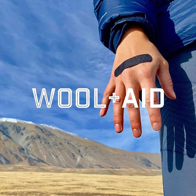 Huge shout out to our friend Lucas and @wearewoolaid who have just launched #WoolAid. As an NZ hiking guide, Lucas noticed that people spent more time looking down at their sore, blistered feet than the stunning NZ scenery. He had the guts and vision to take this problem and turn it into this super product. So inspiring and such an advocate for the wool industry. It has been an absolute honour to spend a little time working with you Lucas. Head over and give @wearewoolaid some support! . ▫️ @wearewoolaid ▪️@virtuo.co . #woolaid #wool #biodegradable #kiwiingenuity  #leavenotrace #walkon