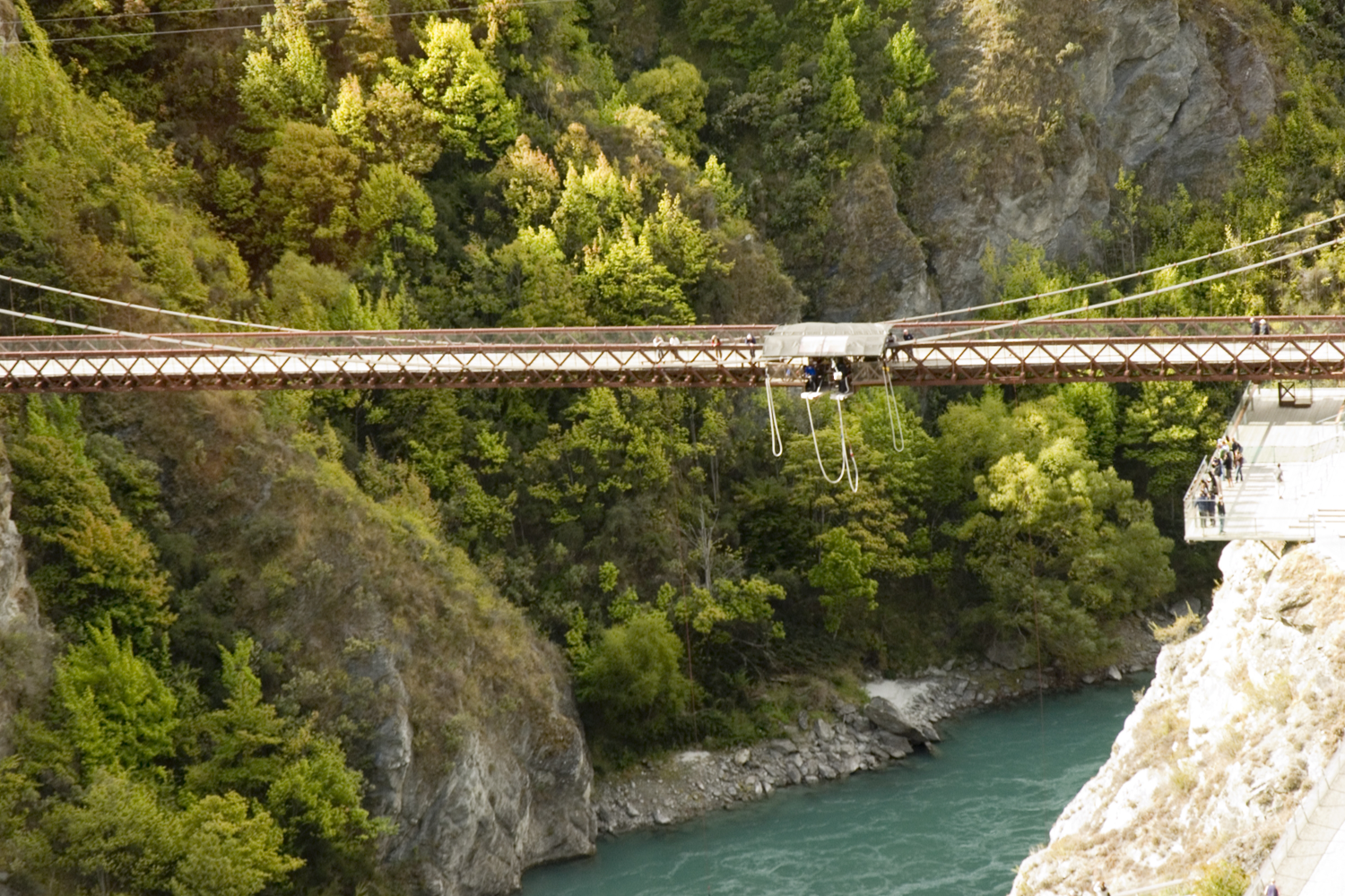 Bungy jumping off the Kawarau Bridge.png