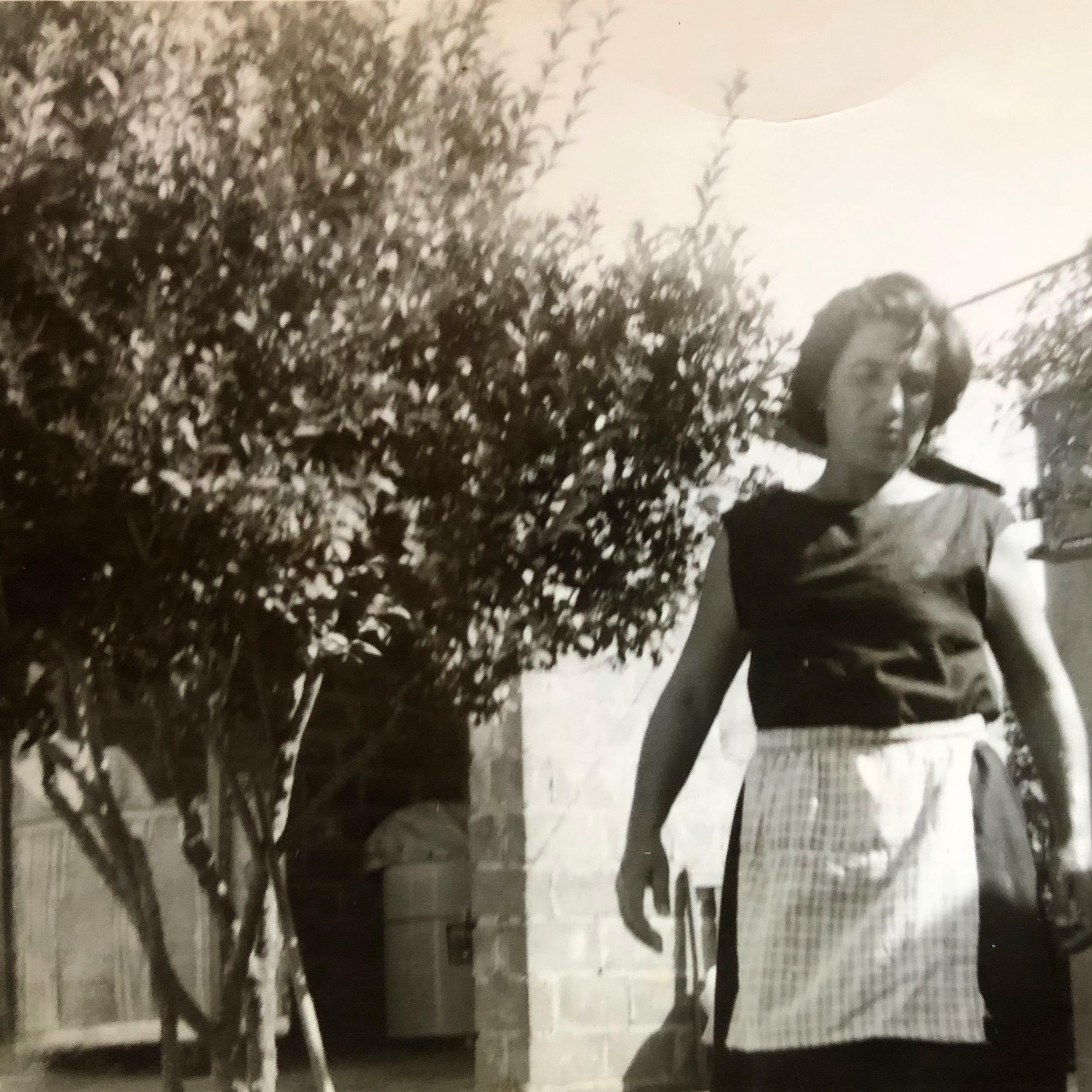 Nonna Rosaria in her 40's