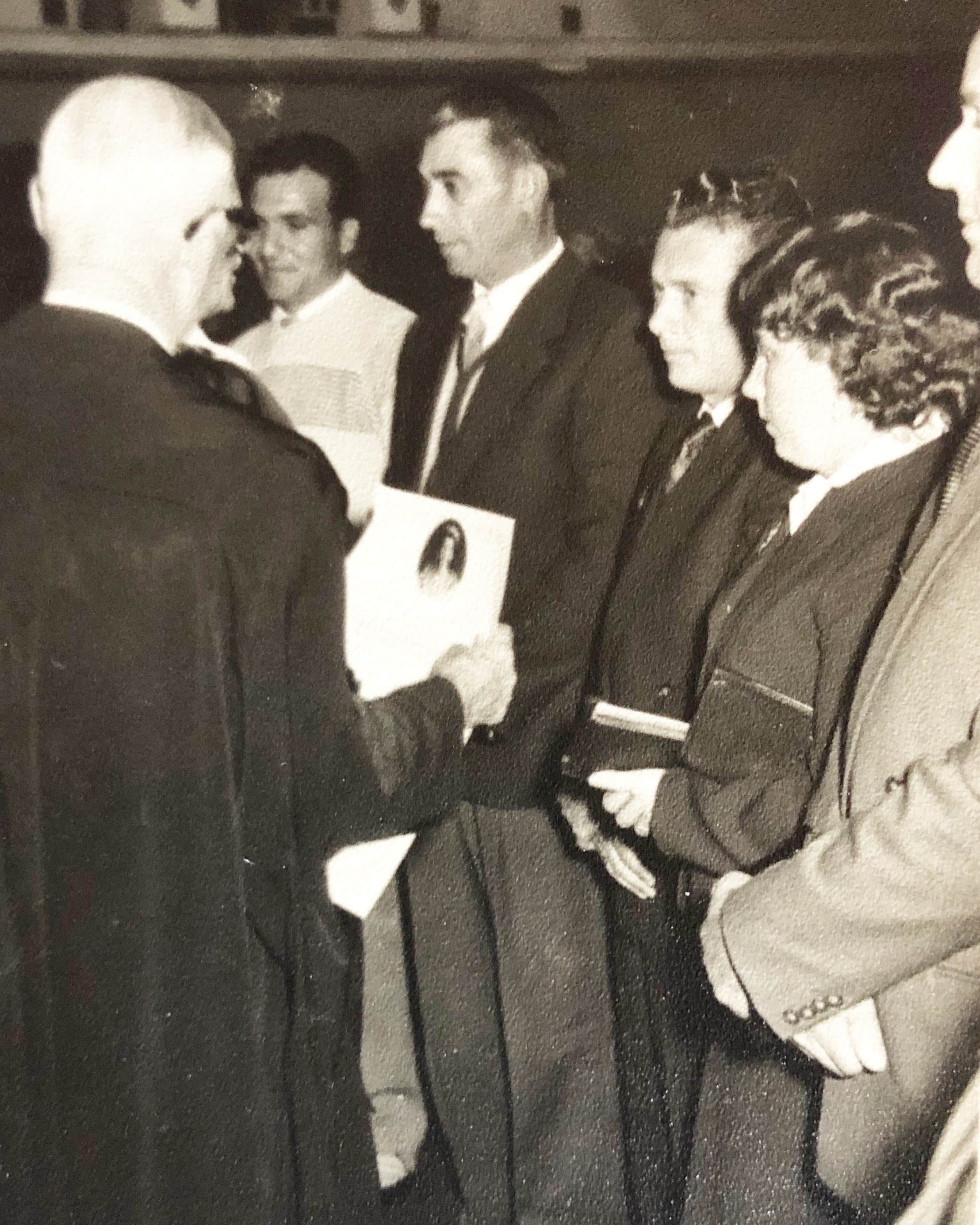Nonno Giuseppe receiving his Australian Citizenship