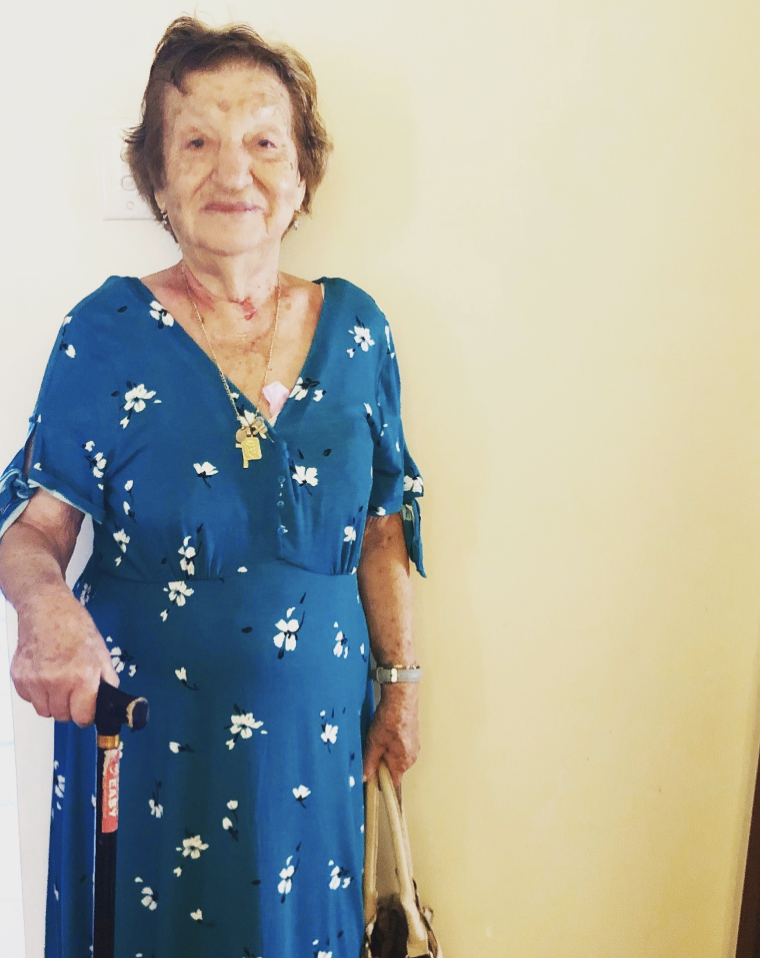 Pictured: the other most important woman in my life - Nonna 95 years old