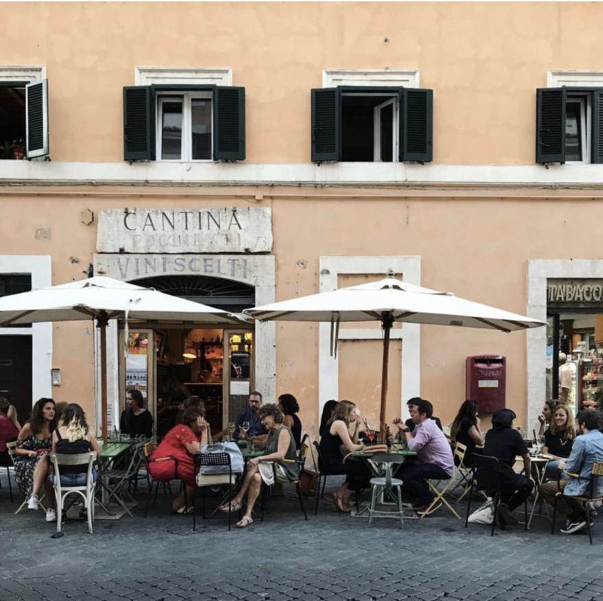 Picture credit - An American in Rome