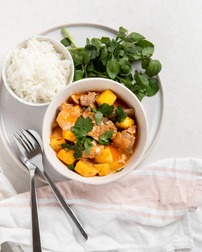 Pork and Pineapple Curry Image