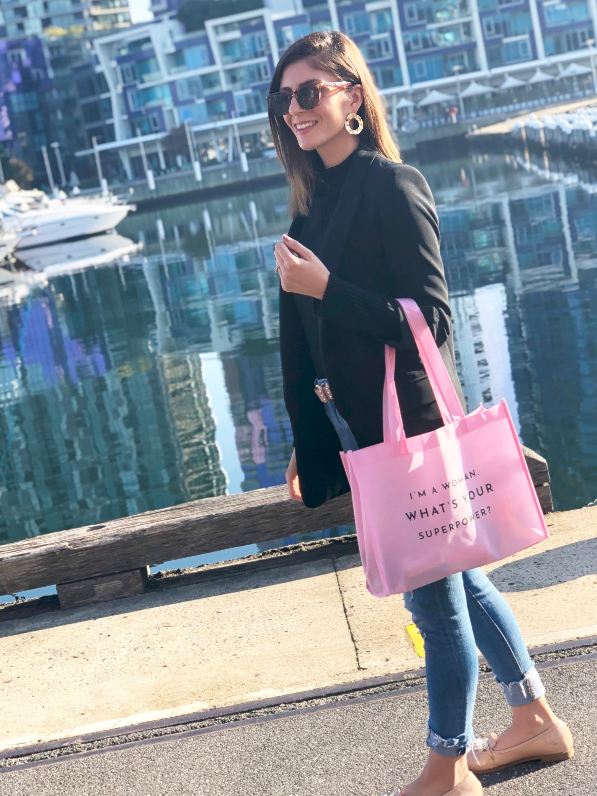 When Business Chicks Australia have super cool tote bags and quotes, you must take a picture! -