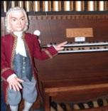 J.S. Bach at the Organ