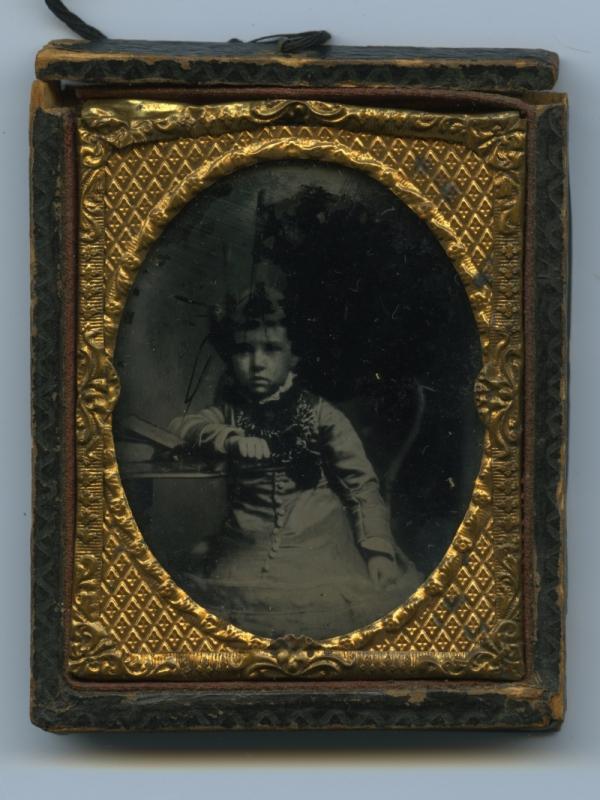 Antique Photograph - Ambrotype