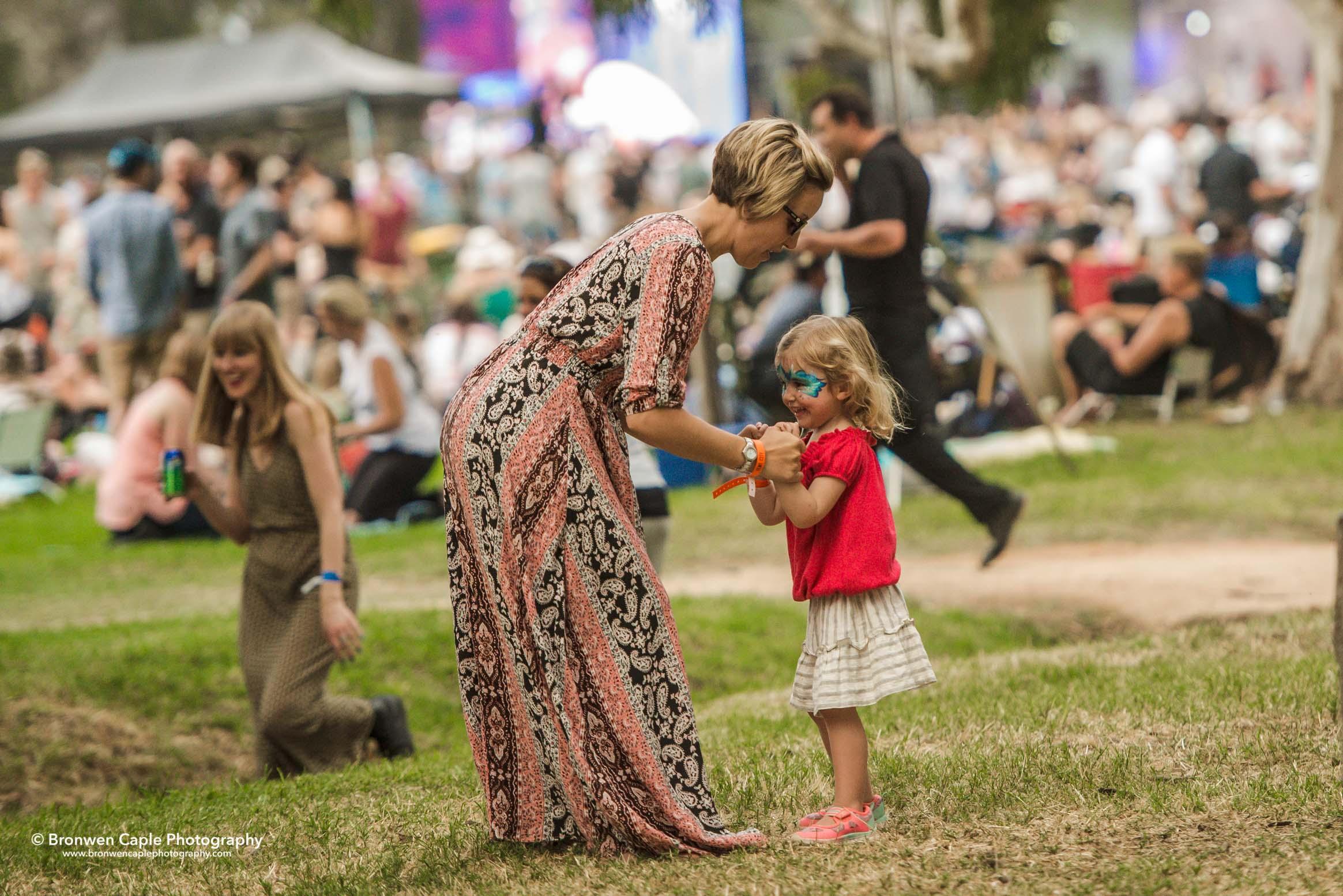 Kids at Handpicked Festival