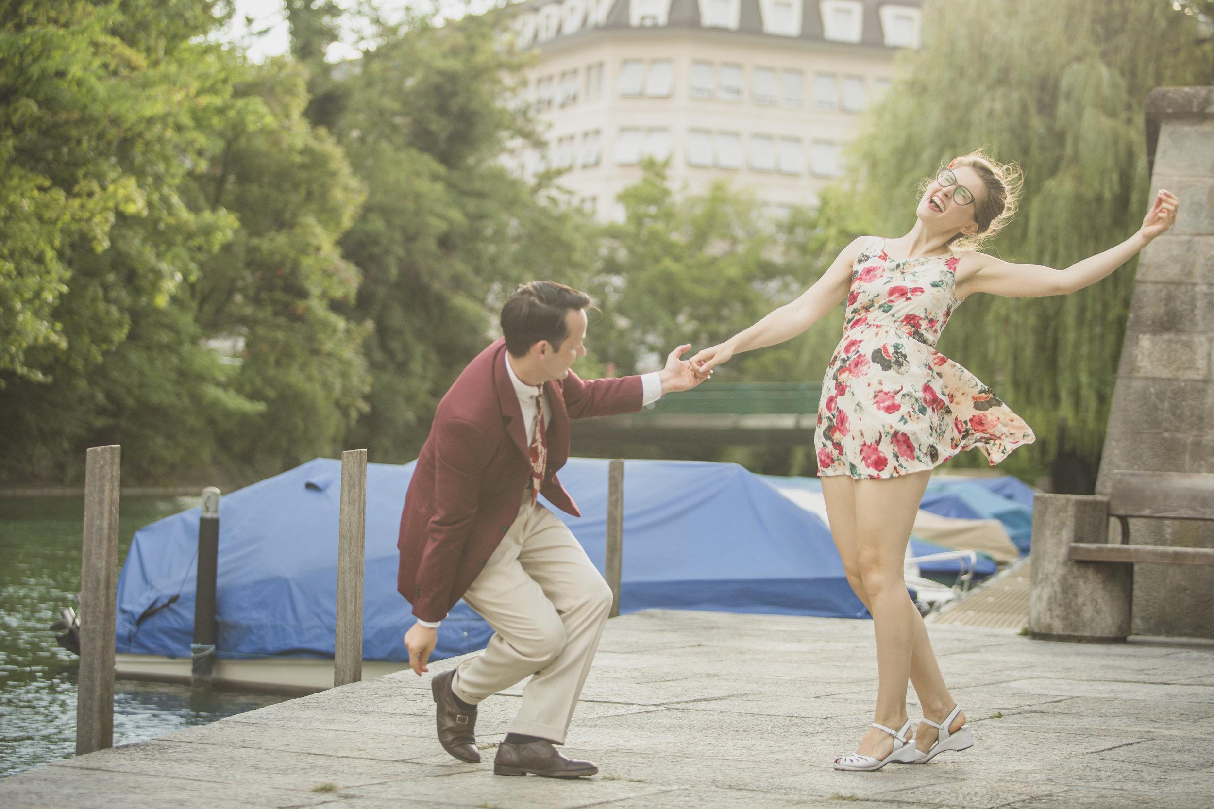 Larissa & Heiko… - shag, bal and swing seamlessly.