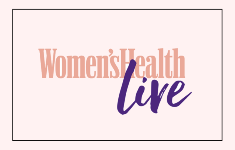 Women's health live 2019 logo