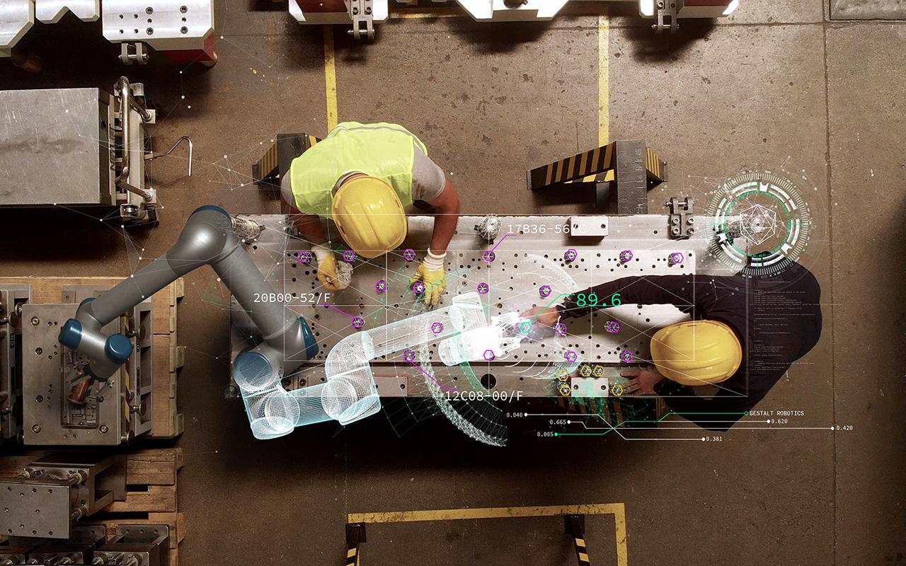 Adaptives Assistenzsystem mit holografischer Interaktion und Programmierung von Robotik