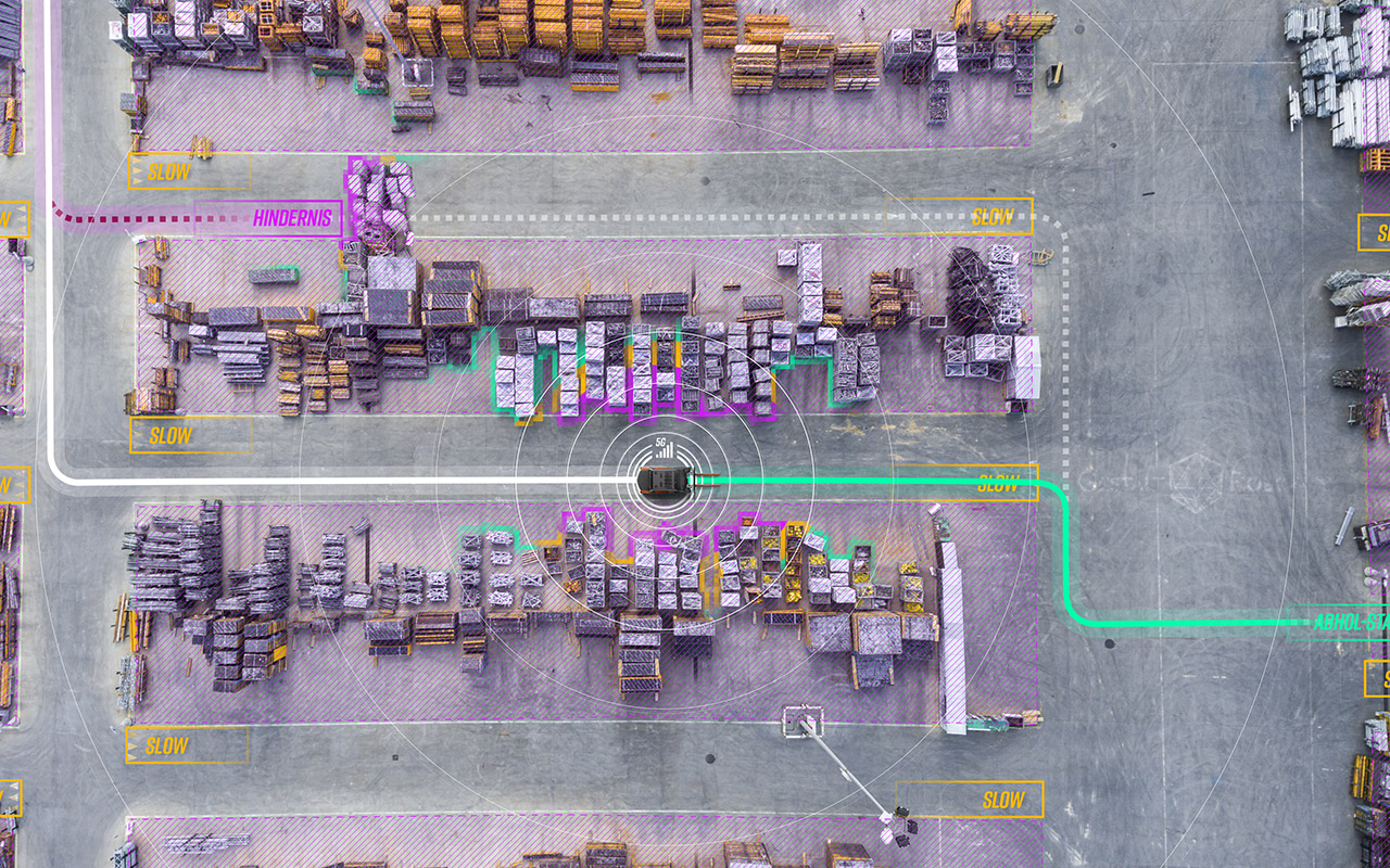 Autonome Mobilitätsplattform für Logistiklösungen der Zukunft