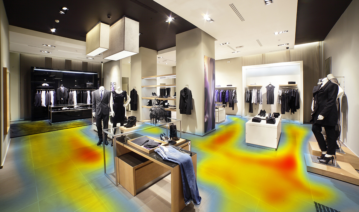 Heatmapping for action-related human presence in indoor environments