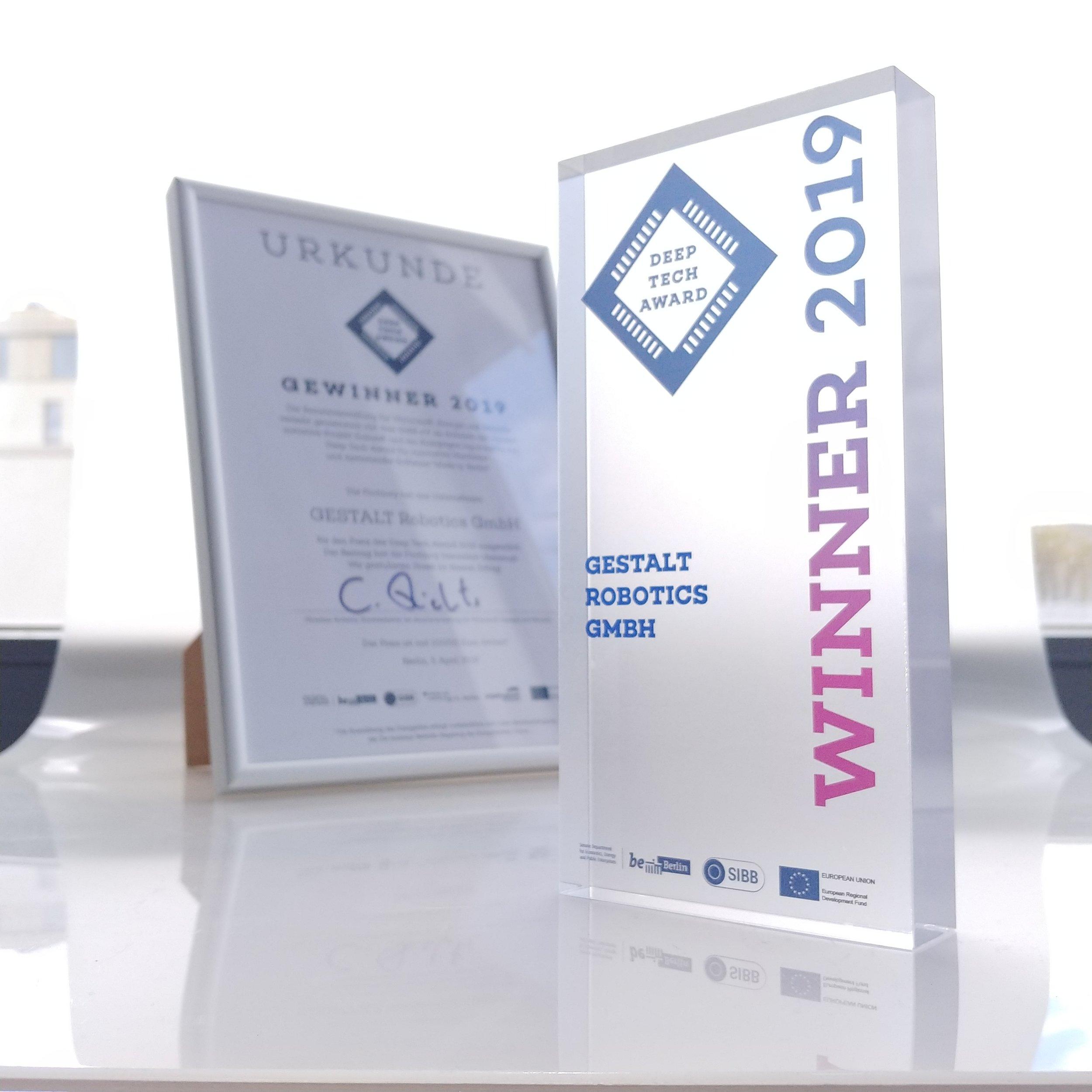 Appreciated amongst experts: EPIC won the Deep Tech Award 2019