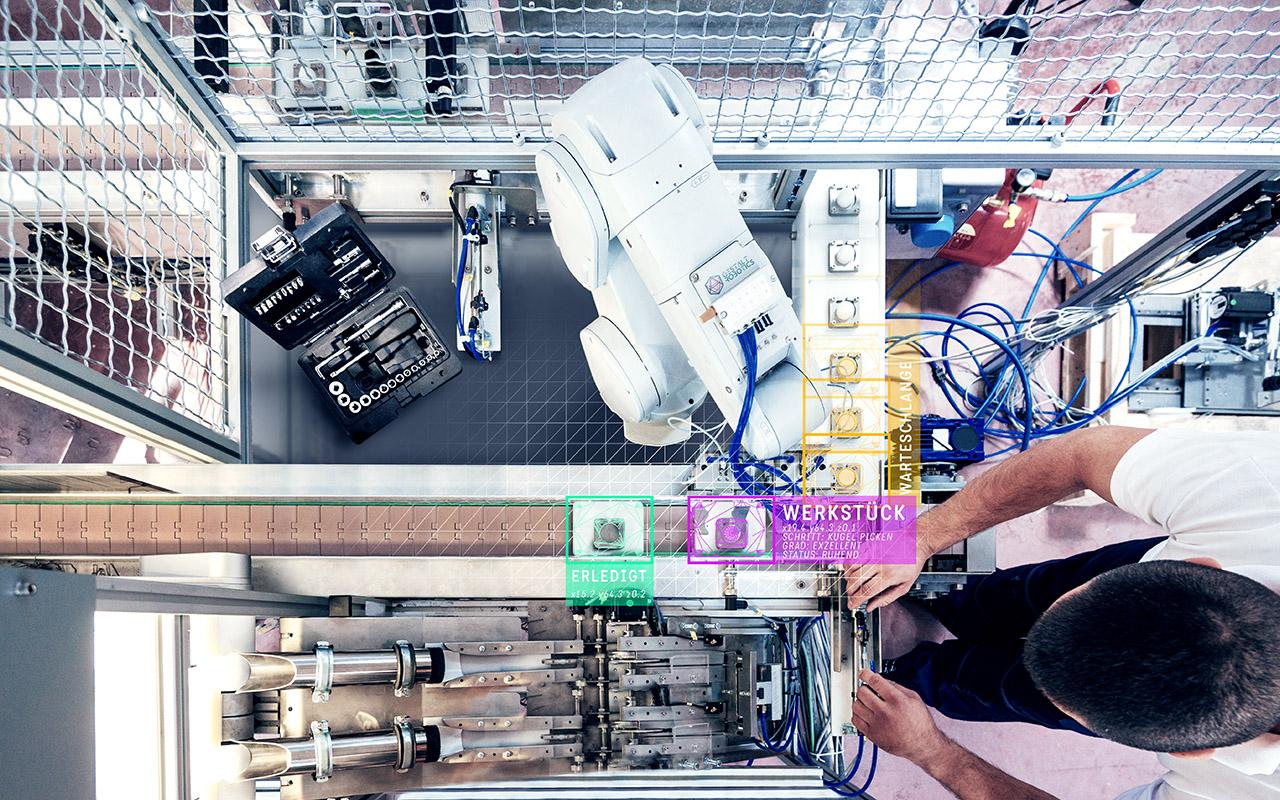 Autonom agierender Roboter basierend auf visueller Intelligenz