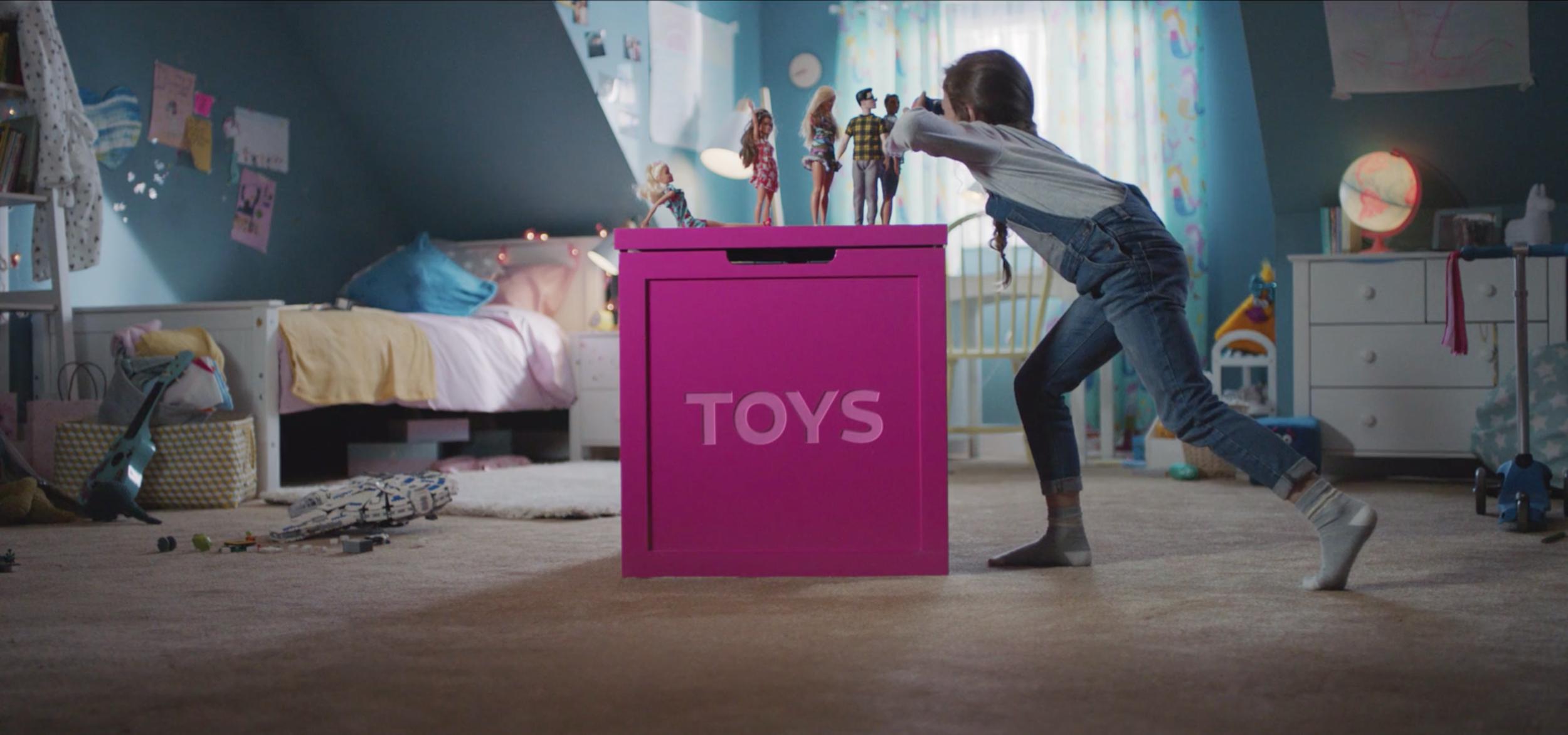Toybox / Director Chris Balmond - Creative Researcher Beth Cutting