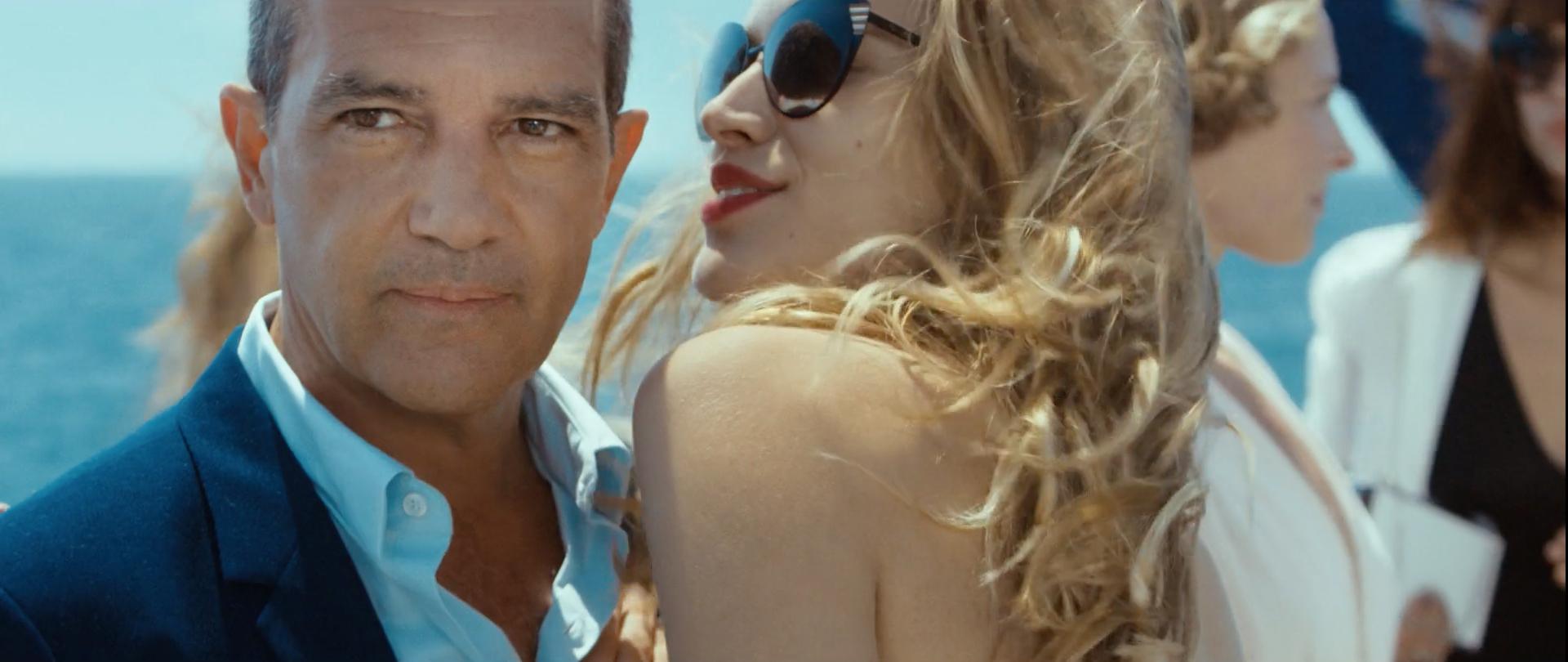 Antonio Banderas/ Director Martin Werner - Creative Researcher Andrea Jade Colomb
